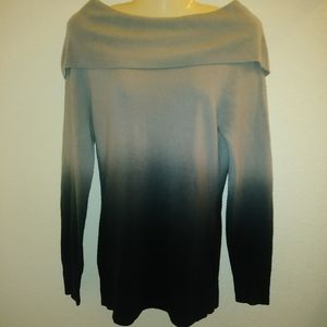 Fashion Bug Ombre Cowl Sweater